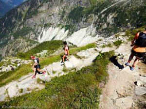 Stage Trail Découverte J2 · Alpes, Massif du Mont-Blanc, Vallée de Chamonix, FR · GPS 45°55'43.51'' N 6°54'46.00'' E · Altitude 2177m