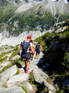 Stage Trail Découverte J2 · Alpes, Massif du Mont-Blanc, Vallée de Chamonix, FR · GPS 45°55'44.20'' N 6°54'46.20'' E · Altitude 2164m