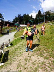 Stage Trail Découverte J2 · Alpes, Massif du Mont-Blanc, Vallée de Chamonix, FR · GPS 45°55'29.39'' N 6°52'49.91'' E · Altitude 1111m