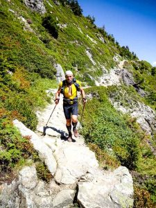 Session privée · Préalpes de Haute-Savoie, Aiguilles Rouges, Vallée de Chamonix, FR · GPS 45°57'15.08'' N 6°52'21.11'' E · Altitude 1819m