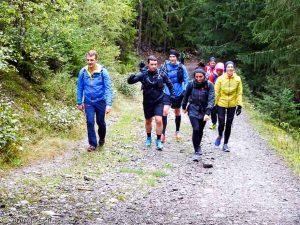Stage Trail Découverte J2 · Alpes, Massif du Mont-Blanc, Vallée de Chamonix, FR · GPS 45°56'51.95'' N 6°54'12.38'' E · Altitude 1176m