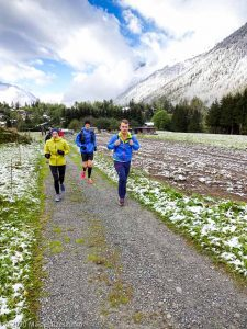 Stage Trail Découverte J2 · Alpes, Massif du Mont-Blanc, Vallée de Chamonix, FR · GPS 45°57'32.87'' N 6°54'35.28'' E · Altitude 1225m