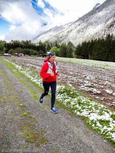 Stage Trail Découverte J2 · Alpes, Massif du Mont-Blanc, Vallée de Chamonix, FR · GPS 45°57'32.88'' N 6°54'35.27'' E · Altitude 1224m