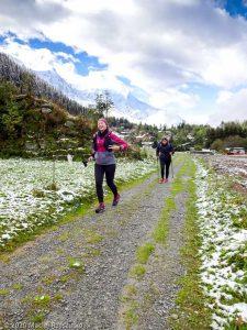 Stage Trail Découverte J2 · Alpes, Massif du Mont-Blanc, Vallée de Chamonix, FR · GPS 45°57'33.46'' N 6°54'35.76'' E · Altitude 1225m