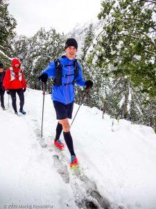 Stage Trail Découverte J2 · Alpes, Massif du Mont-Blanc, Vallée de Chamonix, FR · GPS 45°59'32.91'' N 6°56'15.86'' E · Altitude 1490m