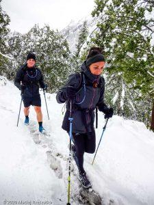 Stage Trail Découverte J2 · Alpes, Massif du Mont-Blanc, Vallée de Chamonix, FR · GPS 45°59'32.90'' N 6°56'15.88'' E · Altitude 1490m