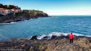 Collioure · Occitanie, Pyrénées-Orientales, Côte Vermeille, FR · GPS 42°31'42.20'' N 3°5'15.04'' E · Altitude -m