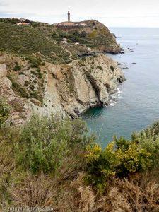 Cap Béar · Occitanie, Pyrénées-Orientales, Côte Vermeille, FR · GPS 42°30'46.42'' N 3°7'54.10'' E · Altitude 20m