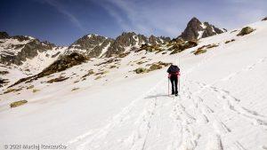 Porteilla du Sisca · Pyrénées, Pyrénées ariégeoises, Vallée de Mérens, FR · GPS 42°36'1.88'' N 1°44'53.80'' E · Altitude 2211m