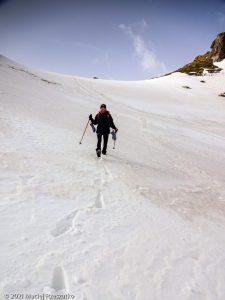 Porteilla du Sisca · Pyrénées, Pyrénées ariégeoises, Vallée de Mérens, FR · GPS 42°36'15.75'' N 1°45'21.49'' E · Altitude 2388m