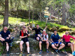 Stage Trail Découverte · Alpes, Massif du Mont-Blanc, Vallée de Chamonix, FR · GPS 45°54'53.59'' N 6°52'58.01'' E · Altitude 1556m