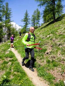 Stage Trail Découverte · Alpes, Massif du Mont-Blanc, Vallée de Chamonix, FR · GPS 45°55'3.52'' N 6°53'15.60'' E · Altitude 1683m