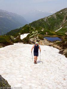 WE Choc Modéré · Alpes, Massif du Mont-Blanc, Vallée de Chamonix, FR · GPS 46°1'17.10'' N 6°56'39.21'' E · Altitude 2119m