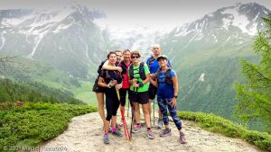 Stage Trail Initiation · Alpes, Massif du Mont-Blanc, Vallée de Chamonix, FR · GPS 46°0'18.49'' N 6°55'52.70'' E · Altitude 1810m