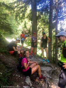 WE Choc Soutenu · Alpes, Massif du Mont-Blanc, Vallée de Chamonix, FR · GPS 45°54'15.75'' N 6°52'25.55'' E · Altitude 1809m