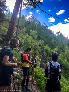 WE Choc Soutenu · Alpes, Massif du Mont-Blanc, Vallée de Chamonix, FR · GPS 45°54'10.59'' N 6°52'29.44'' E · Altitude 1800m