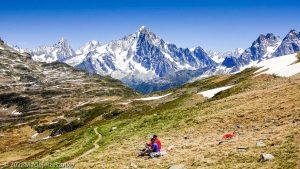 Stage Trail Initiation · Alpes, Aiguilles Rouges, Vallée de Chamonix, FR · GPS 45°55'17.07'' N 6°48'21.19'' E · Altitude 2230m