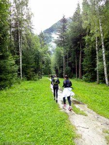 Stage Trail Découverte · Alpes, Massif du Mont-Blanc, Vallée de Chamonix, FR · GPS 45°55'56.24'' N 6°53'4.76'' E · Altitude 1040m