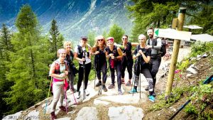 Stage Trail Découverte · Alpes, Massif du Mont-Blanc, Vallée de Chamonix, FR · GPS 45°56'53.70'' N 6°55'2.24'' E · Altitude 1491m