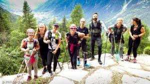Stage Trail Découverte · Alpes, Massif du Mont-Blanc, Vallée de Chamonix, FR · GPS 45°56'53.70'' N 6°55'2.22'' E · Altitude 1491m