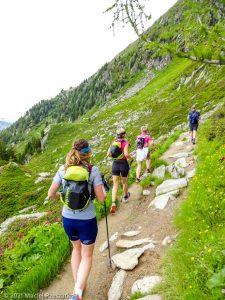 Stage Trail Découverte · Alpes, Massif du Mont-Blanc, Vallée de Chamonix, FR · GPS 45°55'9.39'' N 6°54'17.25'' E · Altitude 2046m