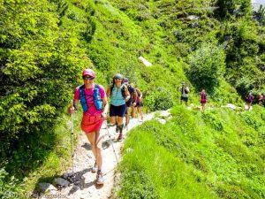 Stage Trail Initiation · Alpes, Massif du Mont-Blanc, Vallée de Chamonix, FR · GPS 45°55'25.42'' N 6°54'21.94'' E · Altitude 2090m