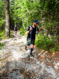 Stage Trail Découverte · Alpes, Massif du Mont-Blanc, Vallée de Chamonix, FR · GPS 45°56'49.82'' N 6°54'8.61'' E · Altitude 1153m