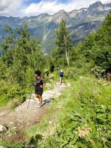 Stage Trail Découverte · Alpes, Massif du Mont-Blanc, Vallée de Chamonix, FR · GPS 45°56'55.76'' N 6°54'56.30'' E · Altitude 1428m