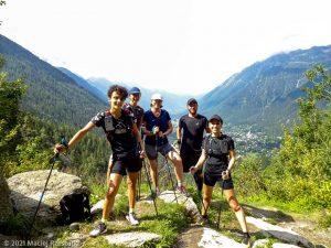 Stage Trail Découverte · Alpes, Massif du Mont-Blanc, Vallée de Chamonix, FR · GPS 45°56'55.76'' N 6°54'56.38'' E · Altitude 1428m
