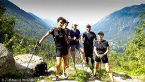 Stage Trail Découverte · Alpes, Massif du Mont-Blanc, Vallée de Chamonix, FR · GPS 45°56'55.72'' N 6°54'56.24'' E · Altitude 1428m