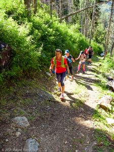 Stage Trail Initiation · Alpes, Massif du Mont-Blanc, Vallée de Chamonix, FR · GPS 45°54'16.19'' N 6°52'24.46'' E · Altitude 1731m