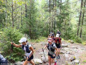 Stage Trail Découverte · Alpes, Massif du Mont-Blanc, Vallée de Chamonix, FR · GPS 45°56'53.24'' N 6°54'14.28'' E · Altitude 1179m