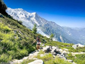 Stage Trail Découverte · Alpes, Massif du Mont-Blanc, Vallée de Chamonix, FR · GPS 45°54'14.94'' N 6°52'50.89'' E · Altitude 2122m